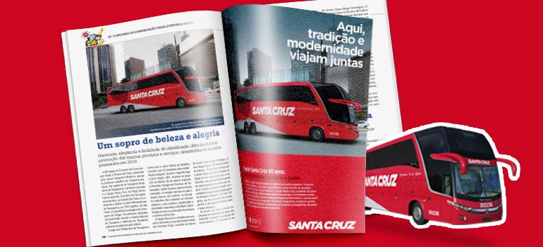 Santa Cruz: 1º lugar na revista Maiores do Transporte & Melhores do Transporte!