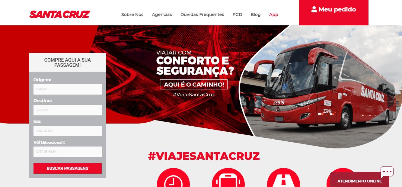 site da Santa Cruz