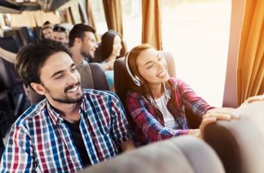 Ar-condicionado no ônibus