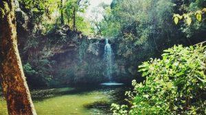 Cachoeira em Águas da Prata