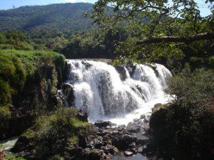 cachoeira em Poços de Caldas